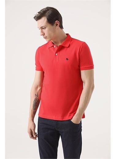 D'S Damat Ds Damat Regular Fit Vizon Pike Dokulu T-Shirt Mercan